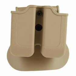 Porte-Chargeur Double Glock 17