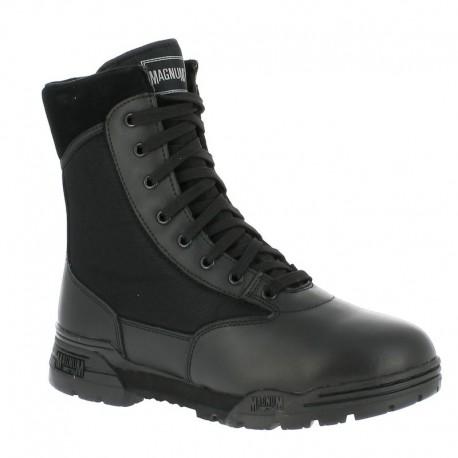 Chaussures Magnum Classic Noir - Rangers Agent de Sécurité - Equipement Agent Sécurité Quaerius