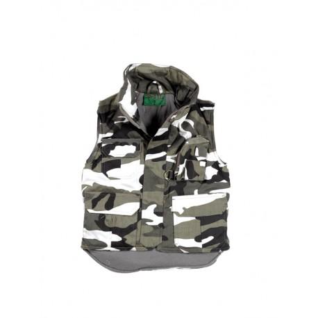 Gilet Rangers Enfant camouflage Urbain Gris Cityguard 2905 - Equipements Militaire Securite Quaerius
