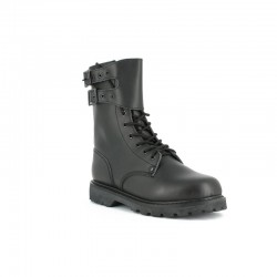 Rangers Cuir Noir Armée Française Citygaurd - Chaussures Rangers militaire quaerius