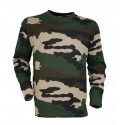 T-shirt Camouflage manches longues