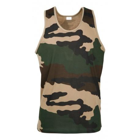 Débardeur Camouflage CE Militaire Cityguard 1505 - Equipement militaire t-shirt camouflage quaerius