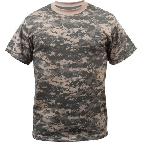 T-shirt Camouflage AT Digital Cityguard 15143 - Equipment militaire t-shirt camouflage quaerius