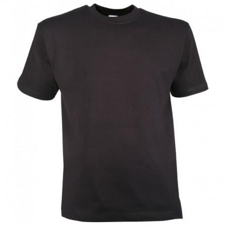 T-Shirt Uni Noir Coton Cityguard 1520 - Equipement militaire t-shirt sport quaerius
