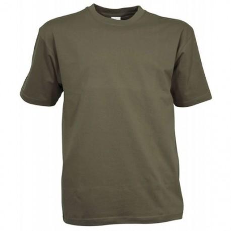T-Shirt Uni Kaki Coton Cityguard 1502 - Equipement militaire t-shirt sport quaerius