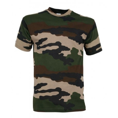T-Shirt Camouflage Militaire Cityguard 1503 - Equipement militaire t-shirt camouflage quaerius