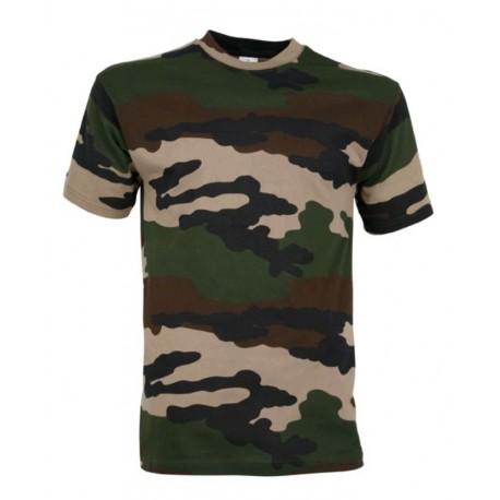 T-Shirt Camouflage Militaire Cityguard 1503 - Equipement militaire t-shirt camouflage quaerius