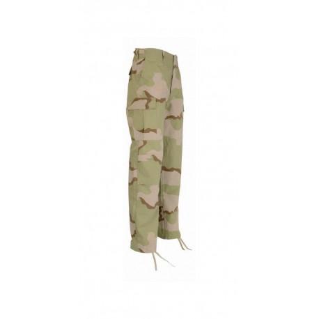 Pantalon BDU Ripstop Camouflage Désert 1048 - Equipement militaire pantalon treillis quaerius