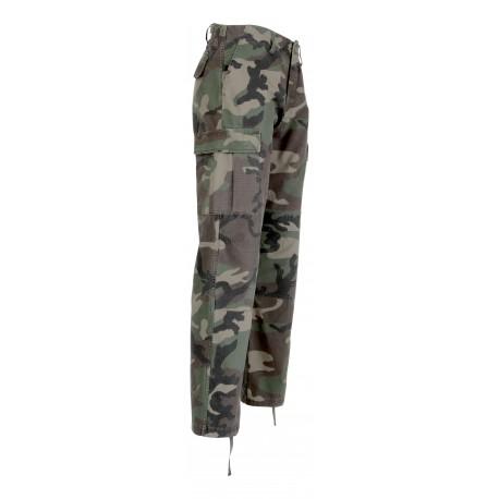 Pantalon BDU Ripstop Camouflage CE 1048 - Equipement militaire pantalon treillis quaerius