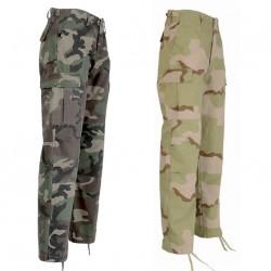 Pantalon BDU Ripstop Camouflage 1048 - Equipement militaire pantalon treillis quaerius