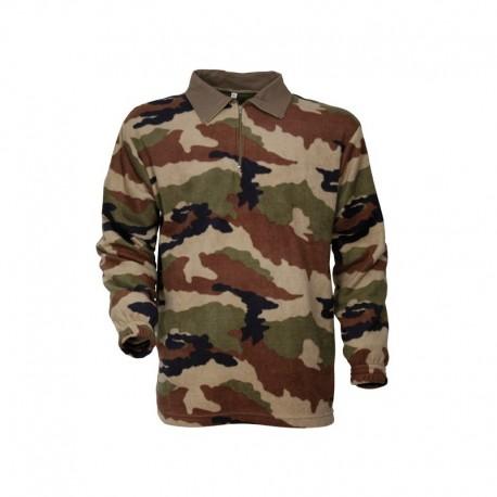 Chemise F1 Polaire Camouflage CE Cityguard 1513 - Equipement militaire chemise treillis quaerius