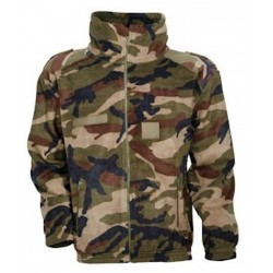 Blouson Polaire Army Camouflage
