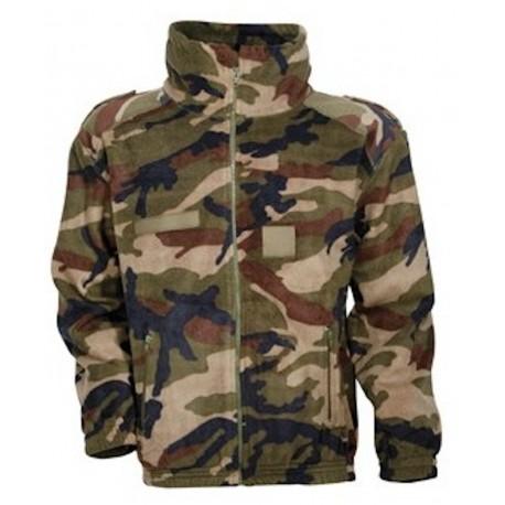 Blouson Polaire Army Camouflage CE Cityguard 1501 - Equipement militaire blouson camouflage quaerius
