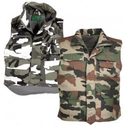 Gilet Rangers Enfant camouflage Cityguard 2905 - Equipements Militaire Securite Quaerius