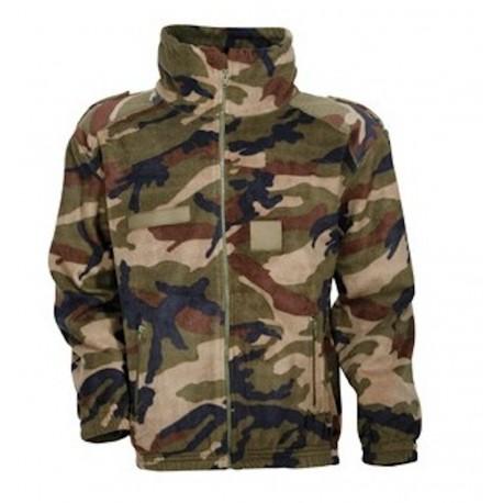 Blouson Polaire Camouflage CE Enfant Cityguard 2913 - Equipement militaire blouson polaire quaerius