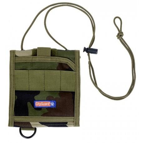 Portfeuille de Cou Cityguard 2760 - Equipement militaire portefeuille quaerius