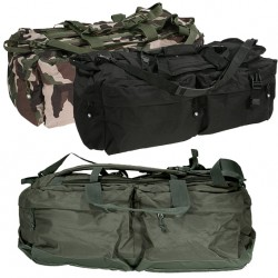 Sac de Voyage 110L CityGuard, simple et résistant, composé de 8 poches. Il a l'avantage de se porter à la main, en bandoulière ou en sac à dos.