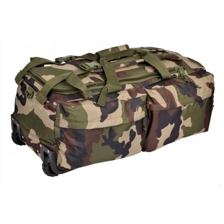 Sac de Voyage à Roulettes 110L Camouflage CE Cityguard 2757 - Equipement militaire sac tactique quaerius