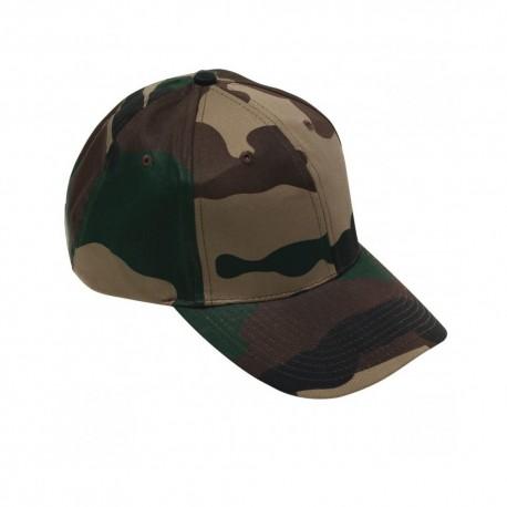 Casquette Base Ball Coton Camouflage CE Cityguard 3413 - Casquette Agent de Sécurité Cityguard Quaerius