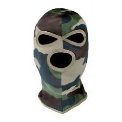 Cagoule 3 Trous Camouflage CE