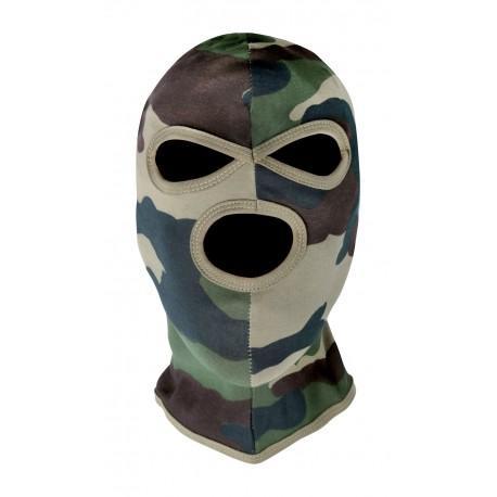 Cagoule 3 Trous Camouflage CE Cityguard 3466 - Equipement militaire cagoule Quaerius