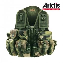 Gilet de combat K170 Jungle II - Gilet de combat Arktis - Equipement militaire securite quaerius