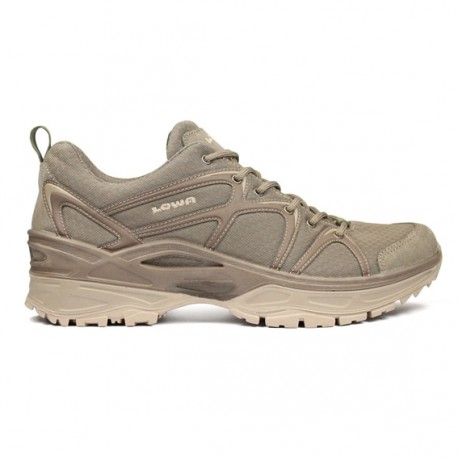 Chaussure Innox LO TF Beige Coyote - Chaussure Militaire LOWA - Equipements Militaire Quaerius