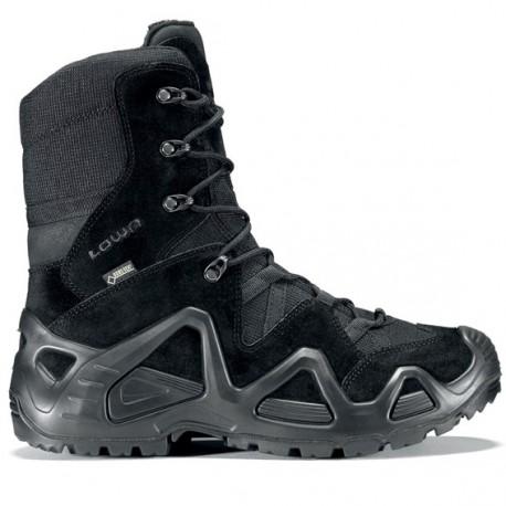 Chaussure Zephyr GTX HI TF Noir - Chaussure Militaire LOWA - Equipements Militaire Quaerius