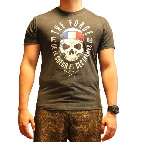T-Shirt The Forge Edition Limité France - Tshirt 5.11 Tactical - Equipement militaire sécurité t-shirt quaerius