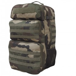 Sac à Dos Camouflage CE Double Accès 65L Opex - Equipement militaire sac à dos camouflage quaerius