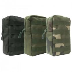 Pochette Verticale Opex Molle 14,5*23 DCA France - Equipement militaire poche sac à dos quaerius