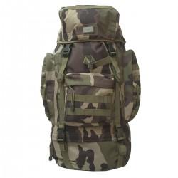 Sac à Dos Camouflage CE 65L DCA France - Equipement militaire sac à dos de marche quaerius