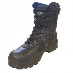 Rangers Urban Noire 1Zip Patrol Equipement - Chaussures rangers agent de sécurité quaerius
