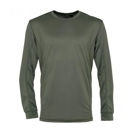 Sweat-Shirt Noir MEGA DRY Cityguard 15106 - Equipement militaire vêtement technique quaerius