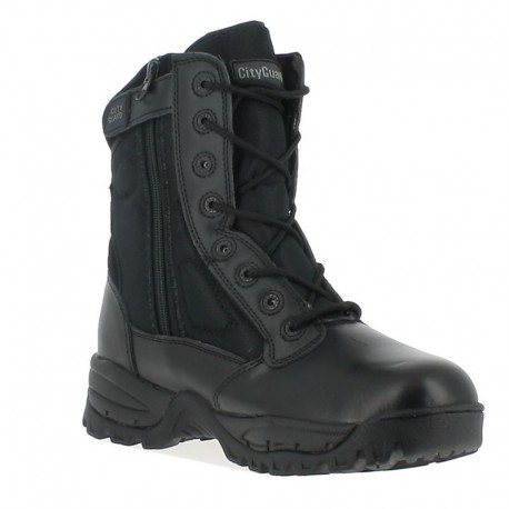 Rangers MEGATECH Noir Cityguard - Chaussures Magnum Agent de Sécurité Quaerius