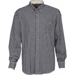 Elégante, la chemise Warm Percussion est équipée d'une poche poitrine et composée d'une fibre 100% coton graté.