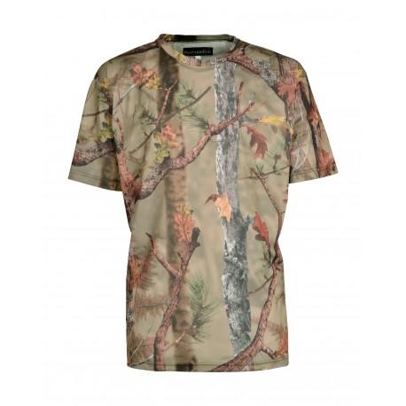 T-Shirt Ghostcamo Forest Percussion - Equipement militaire Habillement Quaerius