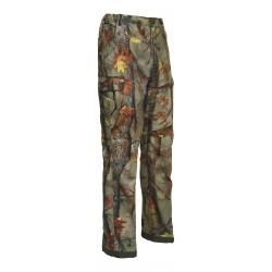 Le pantalon de chasse Palombe Ghostcamo Percussion est équipé d'une ceinture élastiquée anti-glisse et de 7 poches. Il est composé d'une fibre 100% Polyester. Il offre aux chasseurs un camouflage très réaliste.