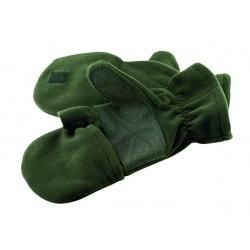 Gants-Moufles de Chasse Polaire avec renforts paume Percussion - Equipement militaire Habillement Quaerius