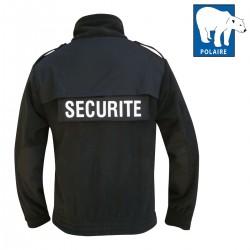 Blouson Polaire Sécurité DCA FRANCE - Equipement Sécurité privé blouson Quaerius