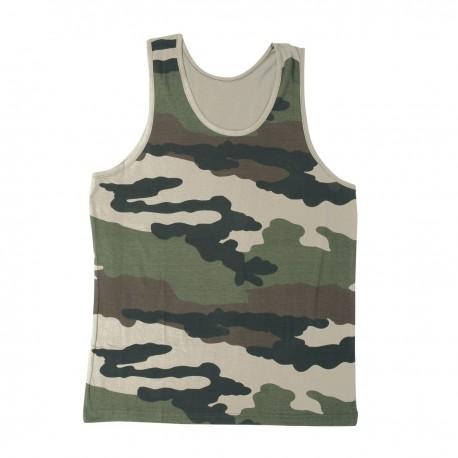Débardeur Militaire Camouflage CE DCA FRANCE - tenue militaire débardeur camouflage tactique Quaerius
