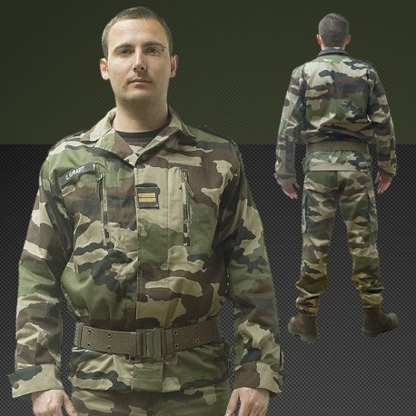 Veste F2 Armée de Terre Française Camouflage CE Opex - Equipement militaire Habillement Quaerius