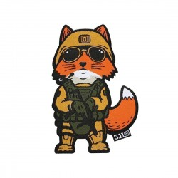 Morale Patch Tactial Fox Marine 5.11 Tactical - Morale Patch tactique équipement militaire humoristique Quaerius