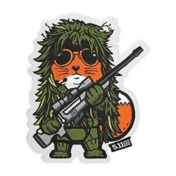 Morale Patche Tactical Fox Sniper 5.11 Tactical - Morale Patch humoristique équipement militaire quaerius