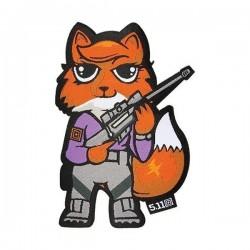 Morale Patch Tactical Foxy 5.11 Tactical - Morale patch humoristique équipement militaire quaerius