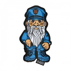 Moral Patch Police Gnome 5.11 Tactical - Patch humoristique militaire Equipement tactique The Duck