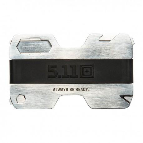 Porte-carte Multifonctions Steel Jacket Multitool Wallet 5.11 Tactical - Cadeau de Noel militaire porte feuille Quaerius