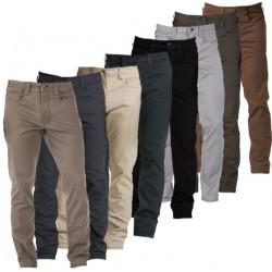 La pantalon Defender-Flex Slim Homme est un pantalon léger et confortable au look passe-partout. Il permet un usage quotidien. Malgré son apparence minimaliste il emporte 7 poches.