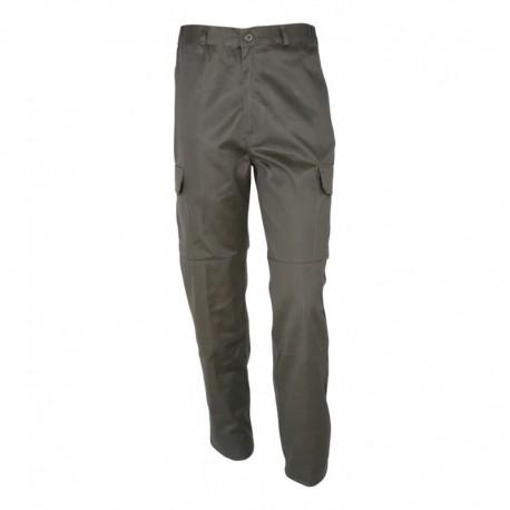 Pantalon de Treillis Kaki Noir - Pantalon CityGuard - Equipements Militaire Securite Quaerius