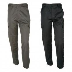 Pantalon de Treillis Kaki Noir - Equipements Militaire Securite Pantalon CityGuard Tactique Quaerius